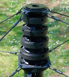 Maszty teleskopowe z serii STORM z napędem taśmowym